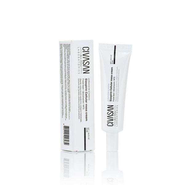 画像1: 会員価格あり・Civasan Sizopirin Cellular Mess Cream 35ml シバサン シゾピリン(シゾフィリン) セルラーメスクリーム(再生クリーム/幹細胞入り)【正規品】 (1)